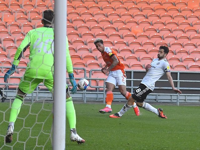 Blackpool go into tomorrow's game on the back of a midweek point with Accrington Stanley
