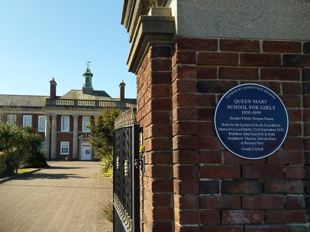 The site of the former Queen Mary School at St Annes