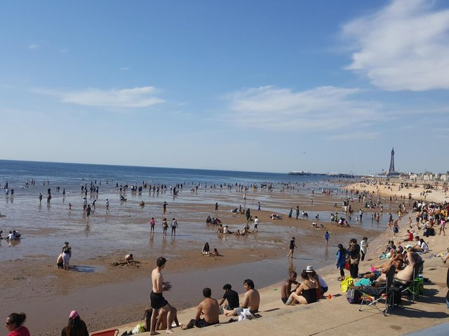 Blackpool is hoping for a busy summer