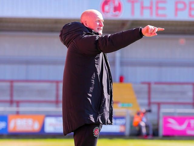 Fleetwood Town head coach Simon Grayson Picture: Sam Fielding/PRiME Media Images Limited