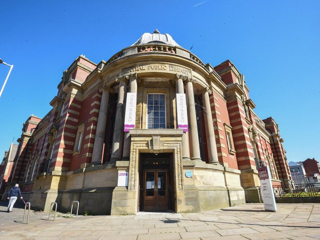 Blackpool Central Library. Photo: Daniel Martino for JPI Media