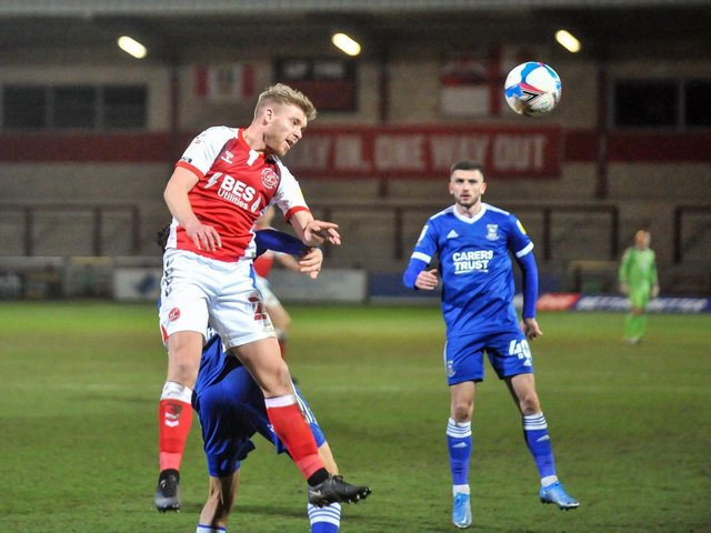Fleetwood Town's Dan Batty Picture: Stephen Buckley/PRiME Media Images Limited