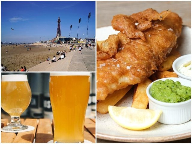 Here are 7 spring walks around the Fylde coast that include a great cafe, chip shop or pub stop