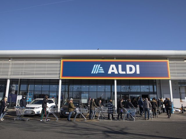 Aldi have confirmed an extension to their Fleetwood is expected to be completed by the summer