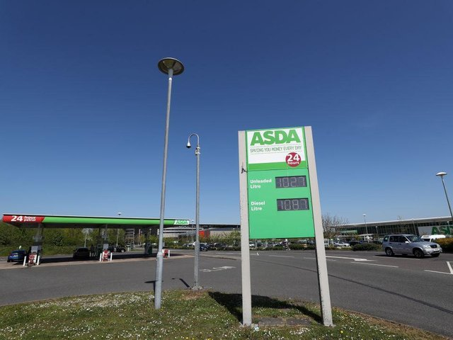 Asda takeover could lead to higher petrol prices