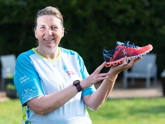 Heather Bradley-Tsopanoglou who suffered a heart attack whilst training for a marathon, is all set to go again. Photo: Kelvin Stuttard