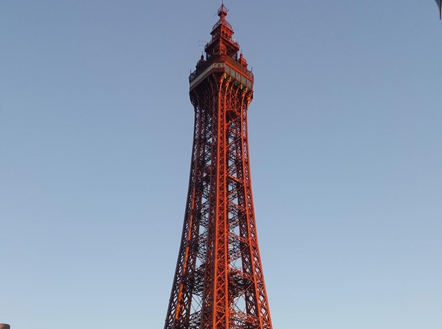 It was feared the phone mast would harm views of Blackpool Tower