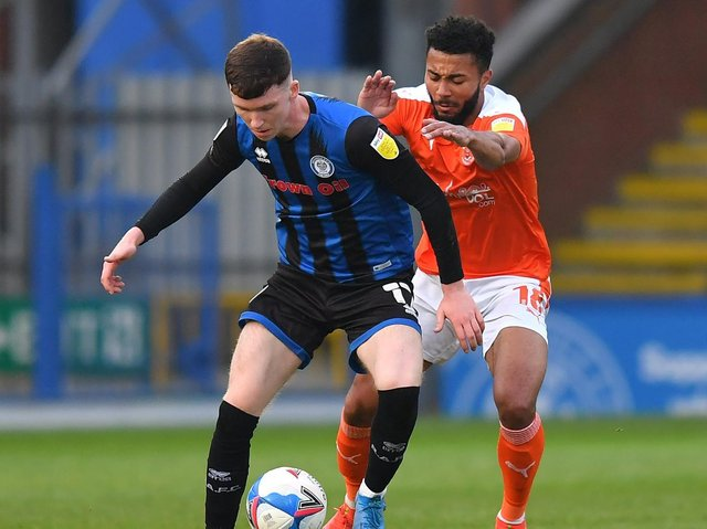 Blackpool lost at Rochdale in midweek