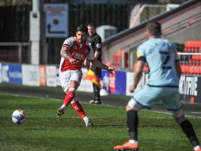Fleetwood Town defender Danny Andrew Picture: Stephen Buckley/PRiME Media Images Limited