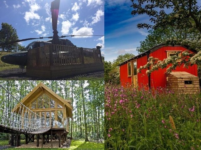 The quirkiest places to stay in and around Lancashire.