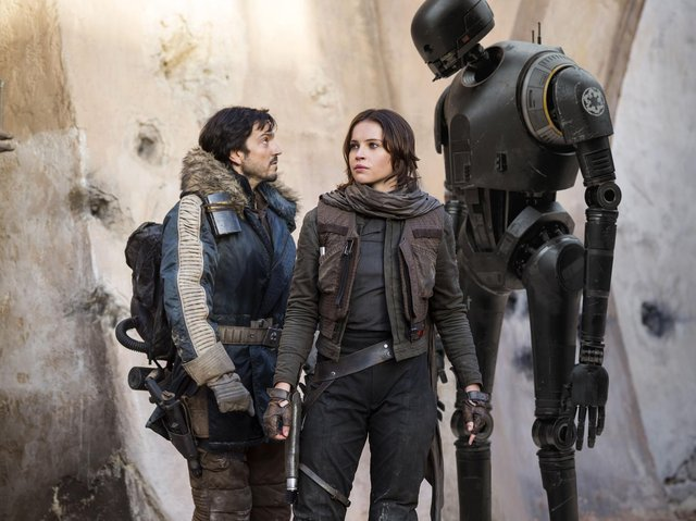 Diego Luna playing Cassian Andor in Star Wars Rogue One