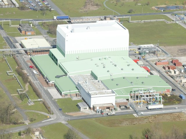 The hi-tech Oxide Fuels Complex at the Springfields site in Salwick
