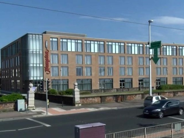 A road closure along The Crescent, New South Promenade, is expected to be in place for 51 weeks to allow construction at the Hampton by Hilton hotel.