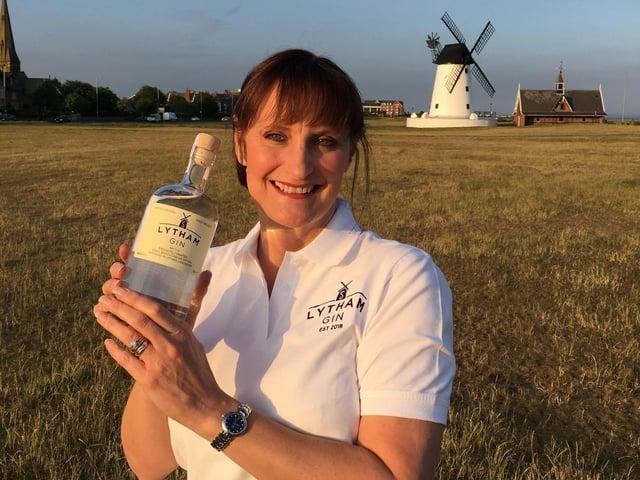 Lytham Gin founder Sara Dewhurst