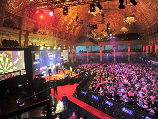 The Betfred World Matchplay was last staged at the Winter Gardens in 2019