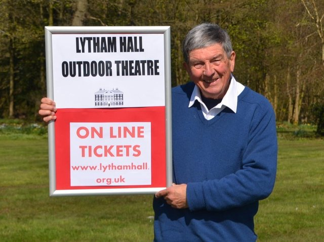 Lytham Hall's theatre season organiser Julian Wilde is delighted with the response