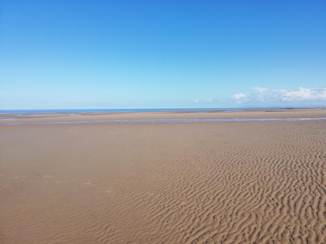 Cleveleys beach, where Star Wars is rumoured to begin filming on Saturday, May 1.