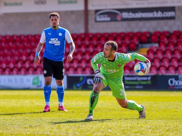 Fleetwood Town keeper Alex Cairns Picture: Sam Fielding/PRiME Media Images Limited