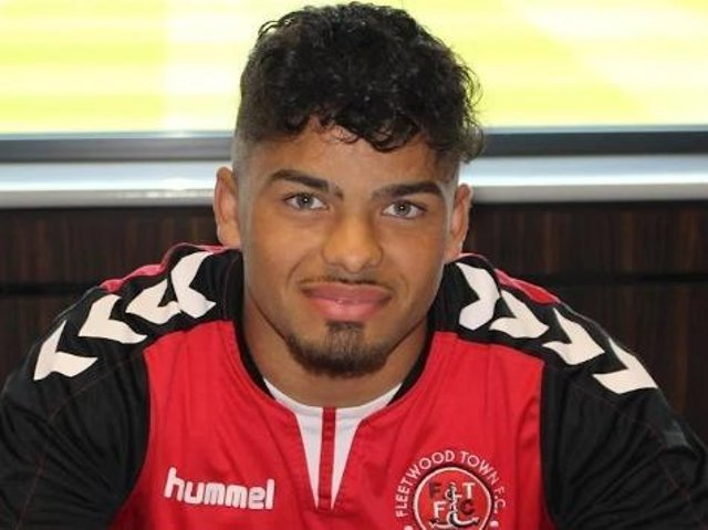 Midfielder Akiel Raffie is the latest Fleetwood Town academy player to sign a professional contract this week  Picture: FTFC