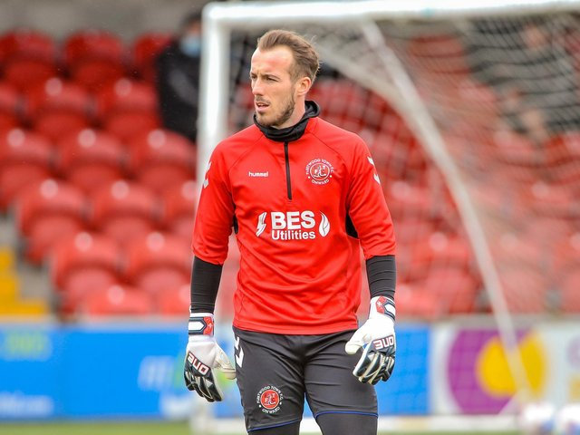 Fleetwood Town keeper Alex Cairns Picture: Stephen Buckley/PRiME Media Images Limited