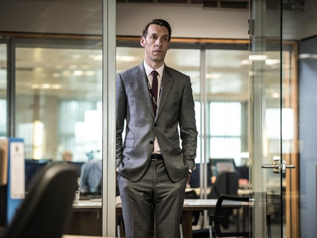 Blackpool actor Craig Parkinson host of podcast Obsessed with Line of Duty BBC Pictures