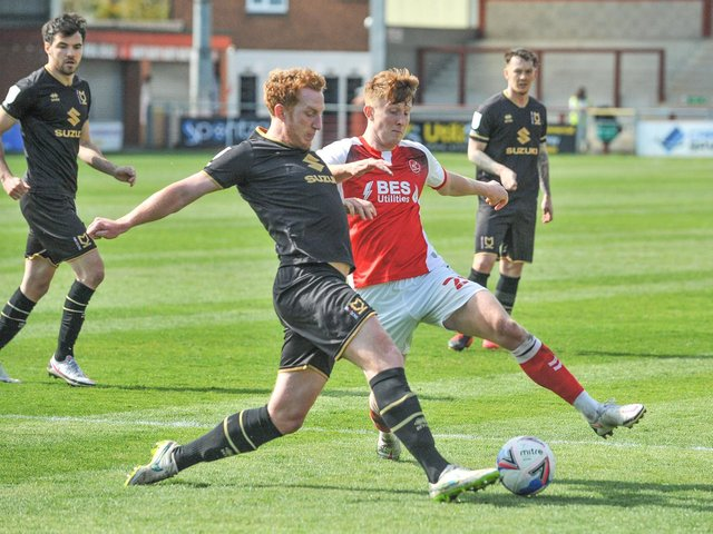 Ged Garner scored for Fleetwood Town at the weekend Picture: Stephen Buckley/PRiME Media Images Limited