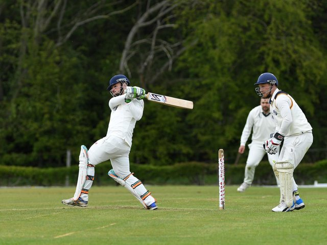 South Shore watched Vernon Carus' Jamie Rigby hit out in their Palace Shield meeting