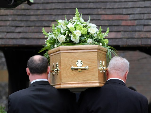 Limit on number of mourners at funerals to be lifted in England