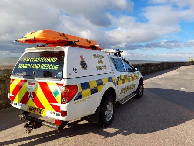 Coastguard and lifeboat crews from Lytham and Fleetwood were called to help police find a vulnerable person between South and North Shore this afternoon.