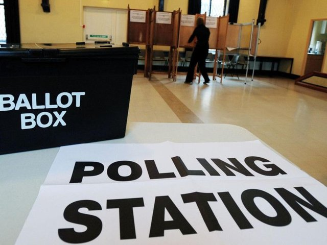 Voting in person will be a little different this year in order to ensure the process is Covid-secure