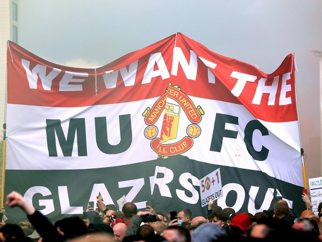 Manchester United's supporters made headlines last weekend