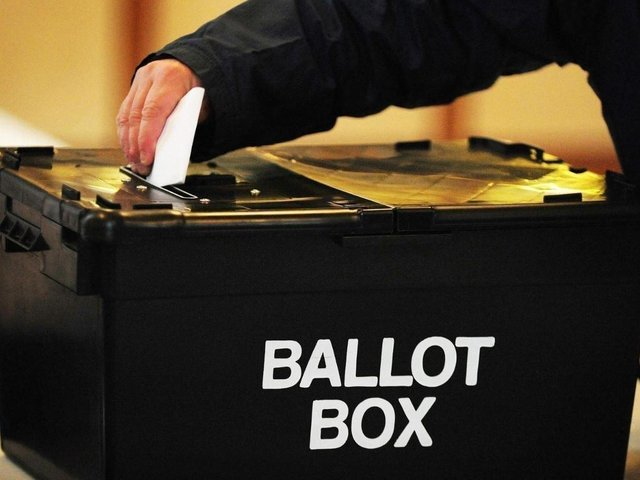 Tory candidates have topped the polls