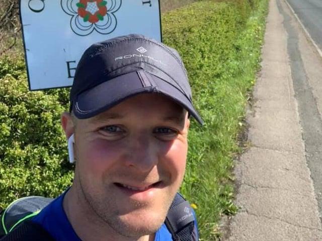 Nathan Richardson is on his way to Highbury stadium in Fleetwood