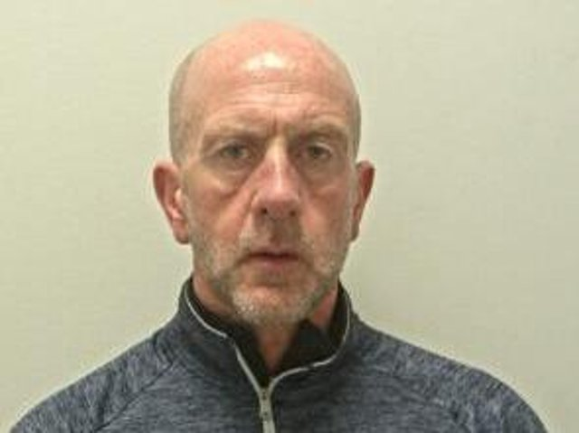 Steve Boyne, a hero firefighter, was sent to prison after pleading guilty to stalking (Picture: Lancashire Police)