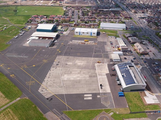 Blackpool Airport could be controlled virtually