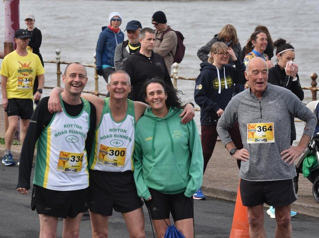 All smiles in the fresh air as seasoned runners take part in the Blackpool Bounce Back 10k