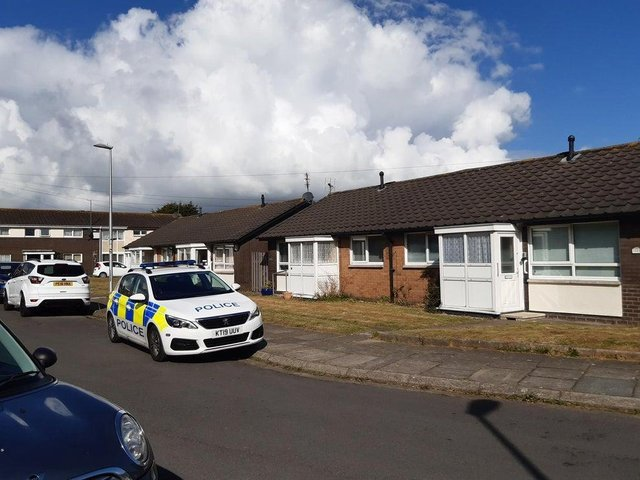 Clayton Crescent in Blackpool where Mandy Love was found dead