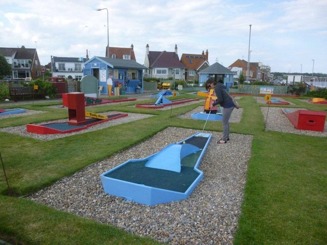 Mini golf is something the whole family can enjoy