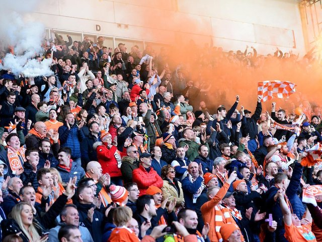 While not confirmed, it's hoped around 4,000 Blackpool fans will be able to attend the second leg