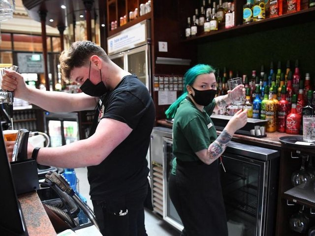 Pub and hospitality bosses have cautiously welcomed the indoor reopening of UK venues