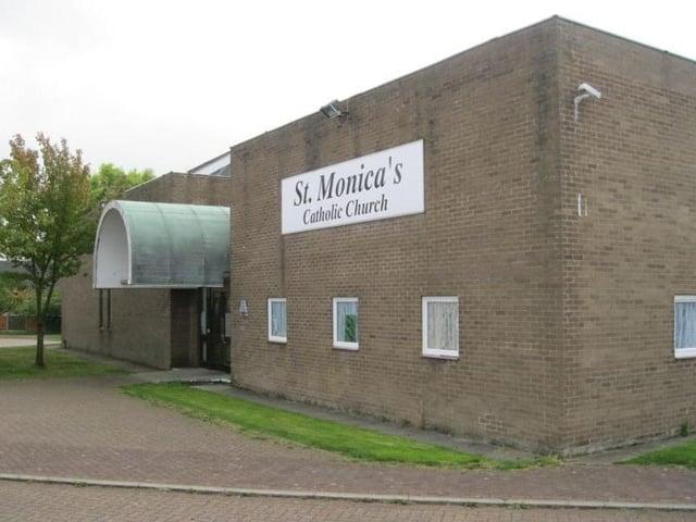 The former St Monica's Church
