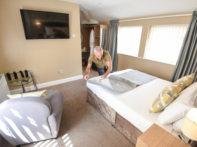The hotel made £25,000 worth of bookings the first week the reopening was announced