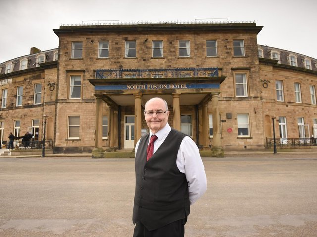 Stephen Dale, current manager of the North Euston Hotel, Fleetwood