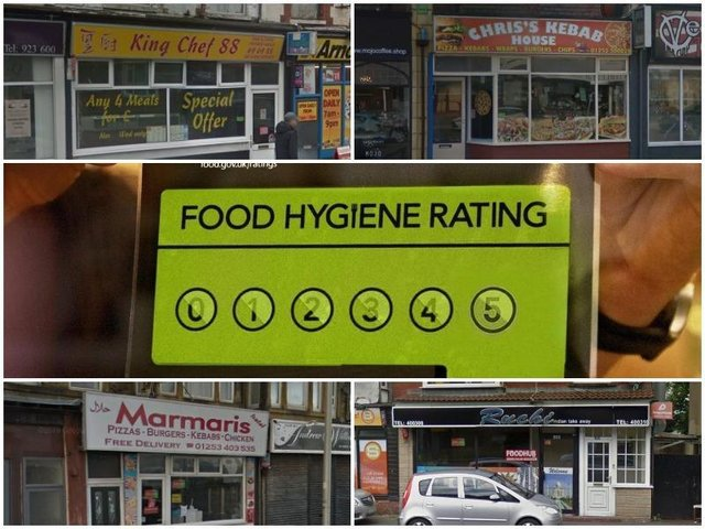 Blackpool hygiene ratings: The takeaways with 1, 2 and 3 stars visited this year