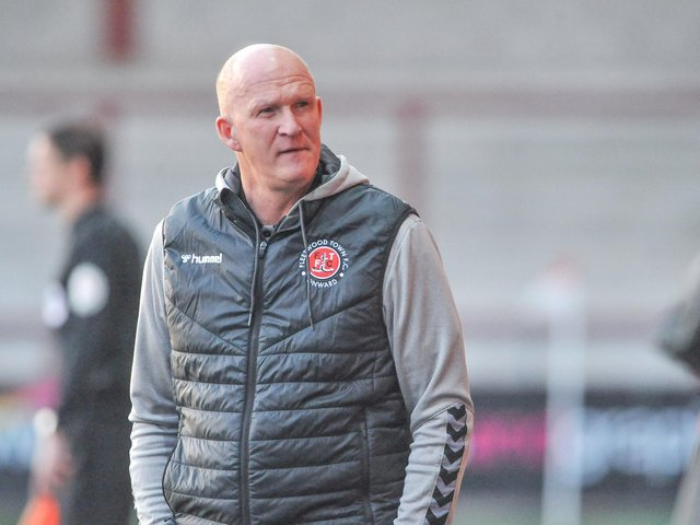 Fleetwood Town head coach Simon Grayson Picture: Stephen Buckley/PRiME Media Images Limited