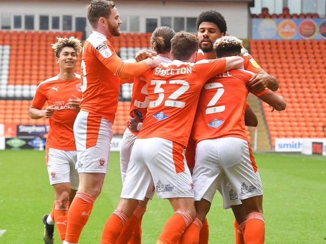 Blackpool's final day win saw them finish third in League One