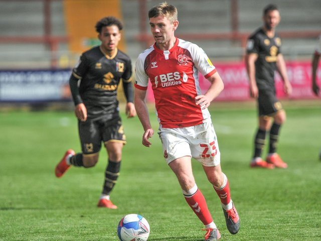 Sam Finley has been releaed by Fleetwood Town Picture: Stephen Buckley/PRiME Media Images Limited