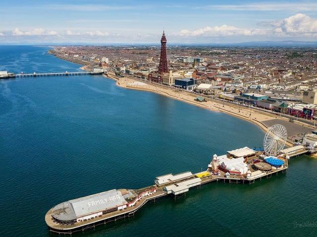 All of Blackpool's beaches have won prestigious awards. Photo: Gregg Wolstenholme