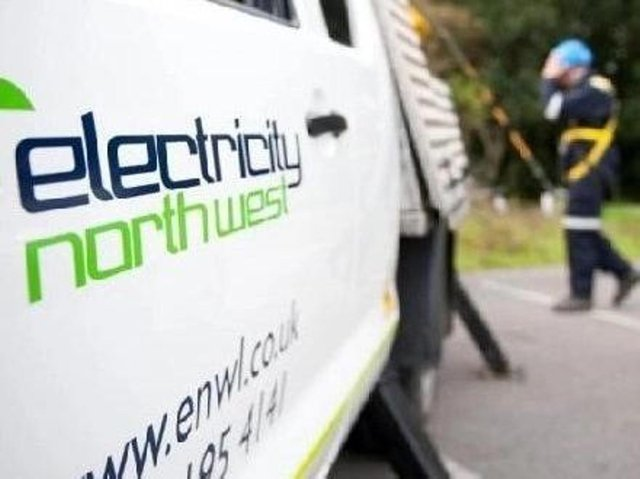 Electricity North West say at least 12 properties have been affected due to urgent repair work taking place on an underground cable around the Mains Lane area