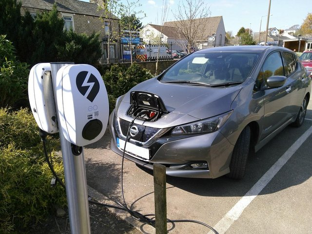 Having charging points could encourage customers says Charge My Street